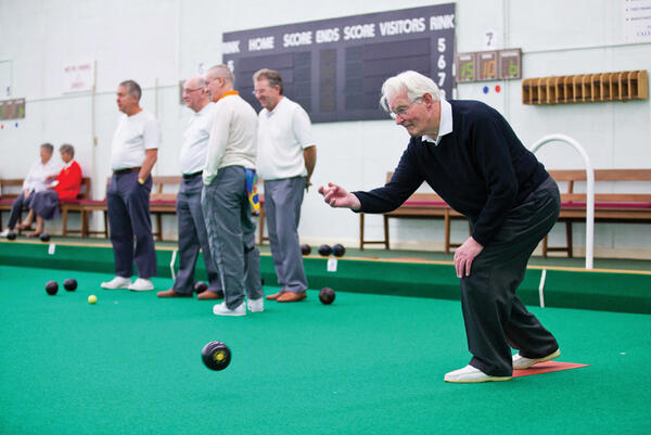 Horsham Indoor Bowls Club (Pic: Toby Phillips)