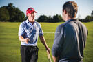 Carl Watts uses a 'caddie method' of coaching