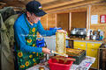 Melvyn Essen makes small batches of honey