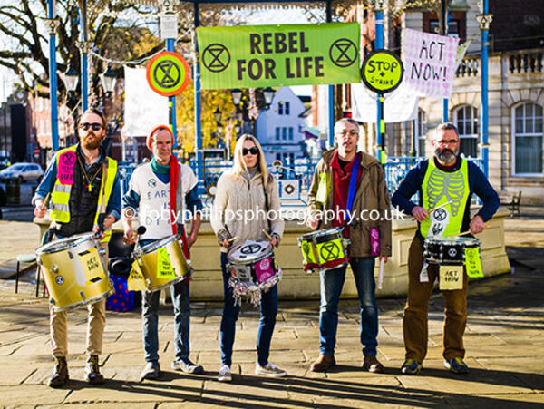 Extinction Rebellion in the Carfax 2019