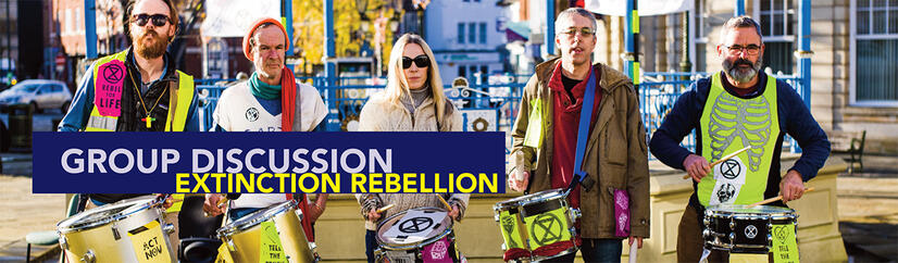 Click for article on Horsham Extinction Rebellion