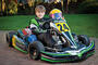 Harry with his kart