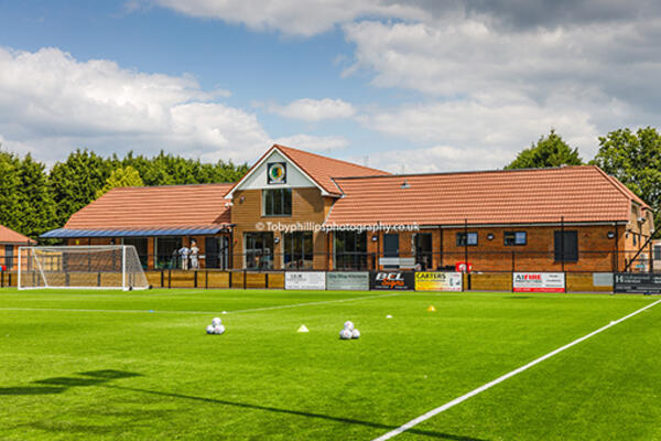 The new clubhouse at Horsham Football Club