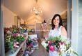 Florist at Joanna's Boutique Tearoom