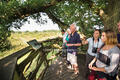 Viewing point on the Knepp Safari