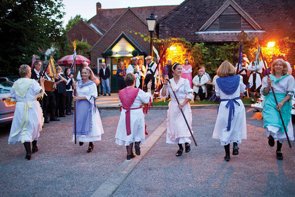 The Magog dancers at West Chiltington