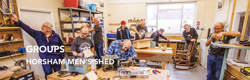 Click here for article on Horsham Men's Shed