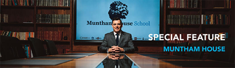 Click for article on Muntham House School