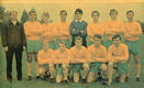 Phil Skingsley with the 1968 Horsham FC team