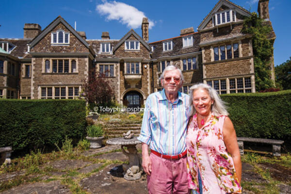 John and Clare Davison at Sedgwick Park House