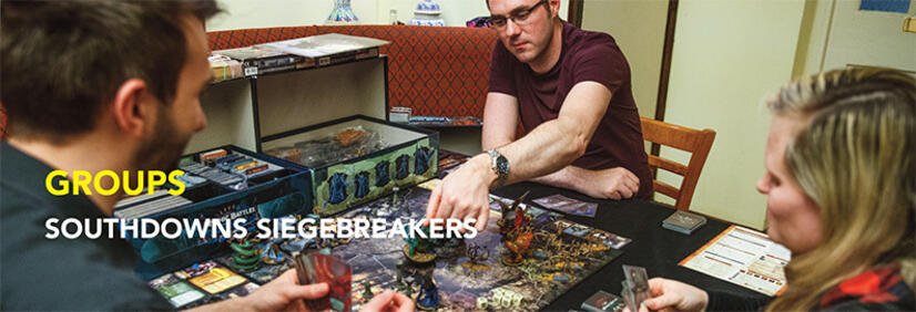 Article on South Downs Siegebreakers