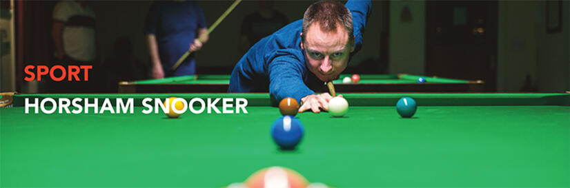 Article on Snooker at The Horsham Club