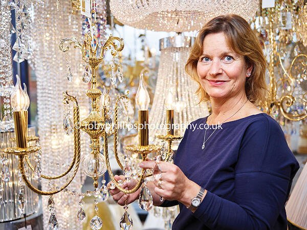 Suzannah at Sussex Lighting
