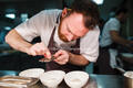 Sous chef Johnny Stanford at The Pass, South Lodge Hotel
