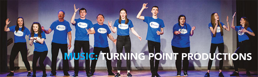 Click for article on Turning Point Productions