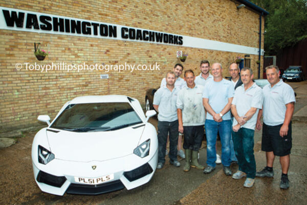 The team at Washington Coachworks